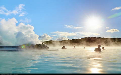 Day At The Blue Lagoon, Iceland